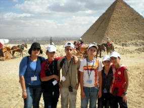JLSS Children in Egypt Thanks to MEA
